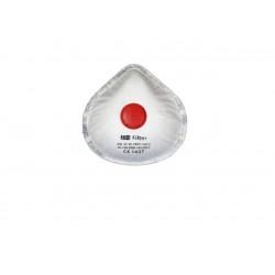 Masca protectie respiratorie cu supapă, bandă de etanşare, strat de carbon activ, STRONG FFP3, 10 buc/set