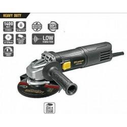 Polizor ughiular AG 125/1400E HD, 1400 W, 12200 rpm, 125mm, FF Group, Heavy Duty
