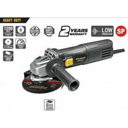 Polizor ughiular AG 125/1200E HD, 1200 W, 12000 rpm, 125mm, FF Group, Heavy Duty