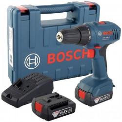 Masina de gaurit si insurubat Bosch GSR 1440 Li cu 2 acumulatori Li-Ion + Valiza+Accesorii
