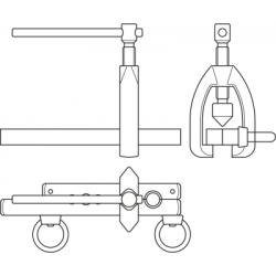 Scula de evazat tevi 10-22 mm Unior
