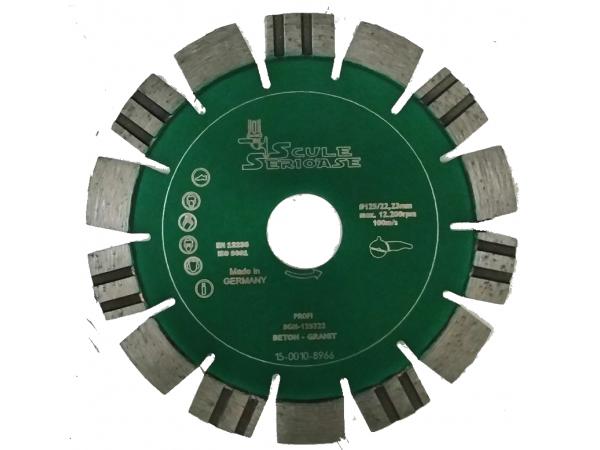 Disc diamantat BGM-PROFI 125 mm Beton-granit