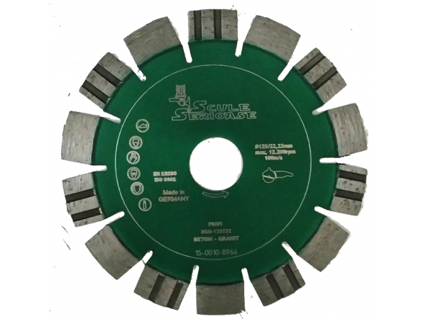 Disc diamantat BGM-PROFI 230 mm Beton-granit
