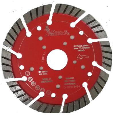 Disc diamantat ECS-SEGMENT - Universal 125 mm constructii universale