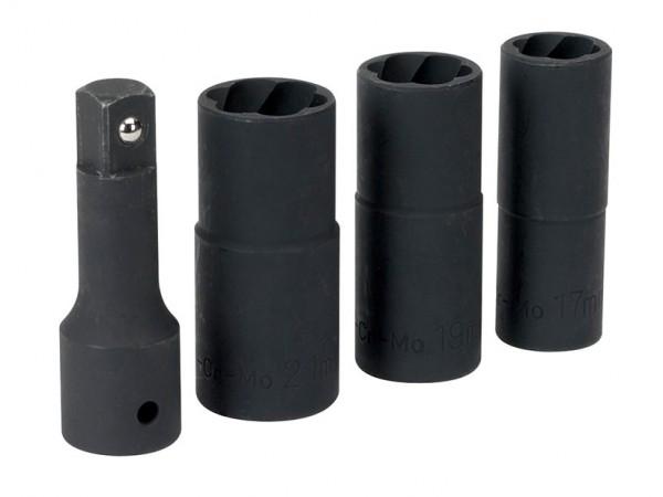 Set de tubulare pentru suruburi uzate si suruburi antifurt